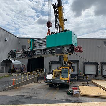 equipment crating